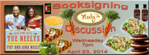Pat And Gina Neely Booksigning Comfort Food From Our Southern Kitchen To Yours Eso Won Books